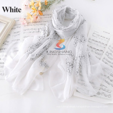 Factory Wholesale price 2015 Newest Silk Shawls Scarf 180cm*84cm big size/Wear as MUSLIM HIJAB/W4036