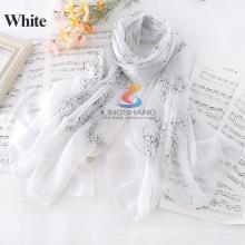 O preço por atacado 2015 da fábrica O lenço o mais atrasado 180cm * 84cm dos scarves da seda o tamanho / desgaste como MUSLIM HIJAB / W4036