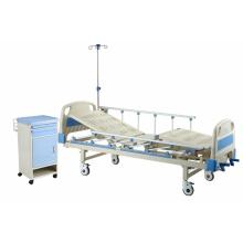 HK206 Zwei Funktionshandbuch Krankenhausbett