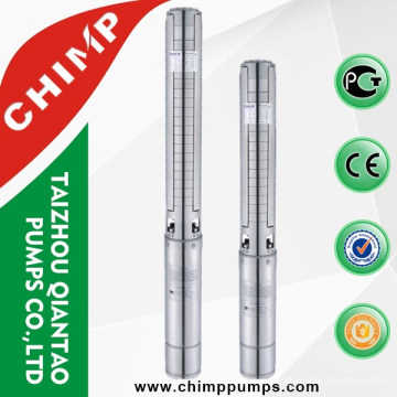 CHIMP SP series deep well borehole stainless steel submersible water pump