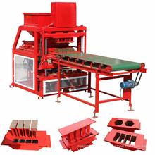 Newest hot sale interlocking earth block moulding machine in nigeria