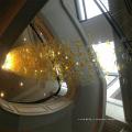 Современный Новый Стиль Дизайн Декоративные Строк Отель Проект Люстра