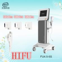 Equipo de belleza médica Hifu para el cuidado de la piel (FU4.5-5S)