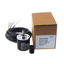 Encodeur rotatif incrémental d'axe de Yumo E6B2-CWZ5B 360PPR 12V 24V DC