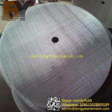 Disco de malla de alambre de acero inoxidable de diámetro grande