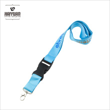 2017 Custom Fashion Hook ID Card Holder Lanyard with Logo, promotionnel Cheap Polyester Lanyard with Carabiner