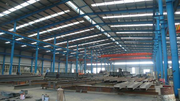 Steel Struktur Frame Warehouse
