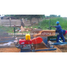 Sawmill Circular Saw Woodworking Sawmill with Carriage