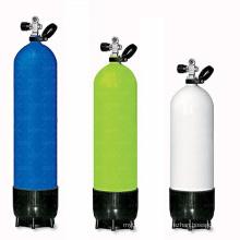 Sale to Dubai CE Certified Aluminum 12L Scuba Oxygen Cylinder