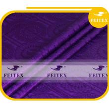 Tissu d'expédition libre de style africain Feitex différents types, habillement de mode de coton de tissu traditionnel pour le mariage, partie