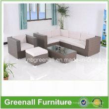Modern European Hotel Rattan Patio Outdoor Furniture (GN-9058-1S)