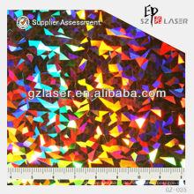GZ-035, Hologramm General Master, geprägtes Plattenblatt