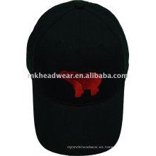 Gorra de béisbol cepillada gruesa 10x10 del algodón