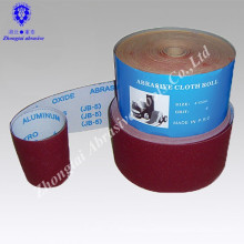 JB-5 DEER Aluminium Oixde doux Emery sable rouleau de tissu