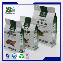 Costomzied Printed 8 Side Seal Gusset Aluminum Foil Bag