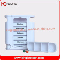 Plastic Drawer Pill Case with 28-Cases (KL-9038)