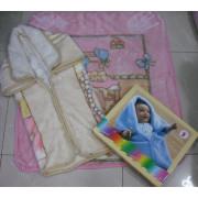 Couverture de sac de bébé en polyester chaud
