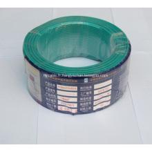 Fil électrique à basse tension isolé par PVC de cuivre / aluminium