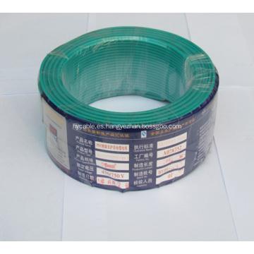 Alambre eléctrico de baja tensión con aislamiento de PVC y cobre