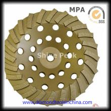 Rodas de moedura concretas do diamante do bom estado para o concreto