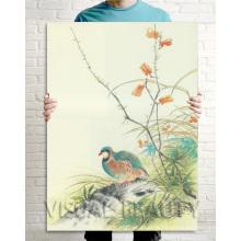 Pintura a óleo Decor Home Home estilo chinês