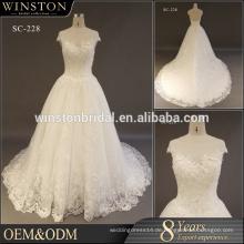 2017 Mode neuesten Brautkleider plus Größe für Braut 2017