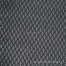 Promotional stock glazed lozenge net jacquard fabric lozenge net fabric net fabric for brassiere sportswear and other garments