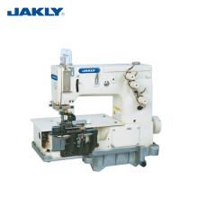 Industrielles doppeltes Nadel-Fett-Bett JK2000C, das Gurt-Schleifen-Nähmaschine-Kleidermaschinerie herstellt