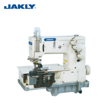 JK2000C Industrial Double Needle Fat-Bed Making Belt Loop Sewing Machine Garment Machinery