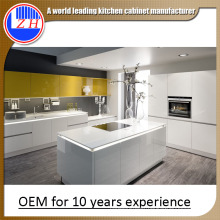 Cheap Made in China Glossy Wood MDF Kitchen Cabinets (many colors)