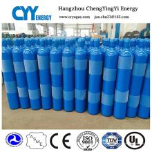 Cylindre de gaz en acier sans soudure à l'azote 50% d'oxyde d'hélium