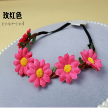 Beautiful Mixed Color Sunflower Headband (HEAD-359)