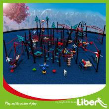 Équipement extérieur à glissière pour jeux pour enfants Fitness Cluster Series LE-NT005