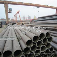 Hersteller CK45 nahtloses Stahlrohr Hochwertige nahtlose Kohlenstoffstahlrohre alibaba Goldlieferant ISO 9001 Bescheinigung
