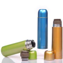 Bouteille de 1 litre forme à la mode en acier inoxydable design thermos flacons fabricants