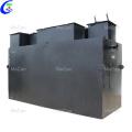 Guaranteed quality wastewater sewage treatment unit