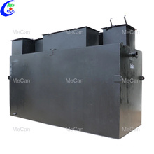 Diseño de calidad compacta de depuradora de aguas residuales doméstica
