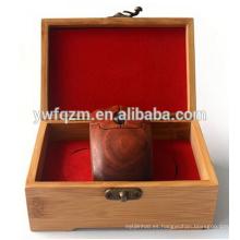 juego de mouse inalámbrico personalizado de madera barata