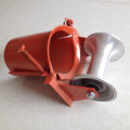 Aluminium corner protection cable pulley