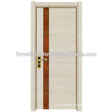Modern Melamine Finish Wooden Interior Bathroom Door
