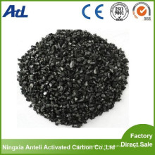 Granular bamboo activated charcoal used in swimming pool