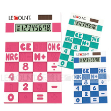 Calculadora do silicone do poder do dígito de 8 dígitos (LC593A)