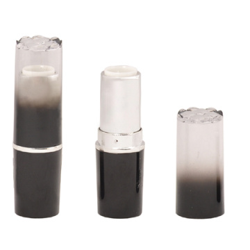 Fashion Transparent Black Lipstick Tube