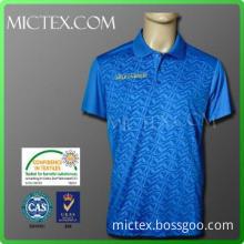 100% polyester Polo Sport T Shirt OEM (OEKO-TEX,ISO9001)