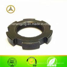 DIN 6923 écrou de sécurité en acier carbone M24X1.0