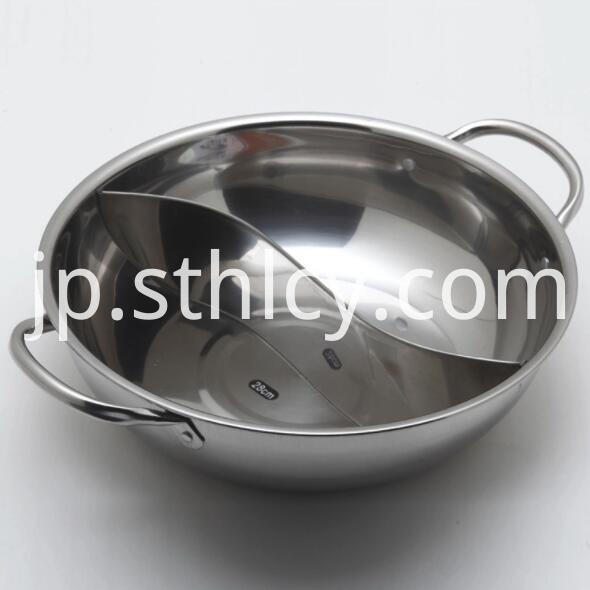 Large Stainless Steel Hot Pot