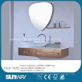 Inde Hot Sell Silver Mirror Stainless Steel Luxury Bathroom Vanity Cabinet