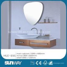 Indien Hot Sell Silber Spiegel Edelstahl Luxus Badezimmer Vanity Cabinet