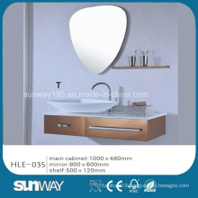 India Hot Sell Silver Mirror Stainless Steel Luxury Bathroom Vanity Cabinet