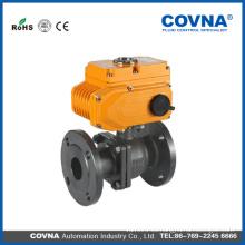 Gas natural de acero al carbono 240v av válvula de bola de descarga eléctrica